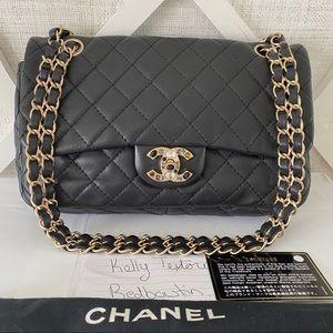 CHANEL MATELASSE CC BIJOUX LAMBSKIN CHAIN Bag Rare